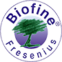 Logotipo de Biofine® de Fresenius